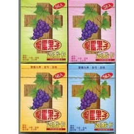 聖靈果子:遊戲卡〈紅、黃、綠、藍〉