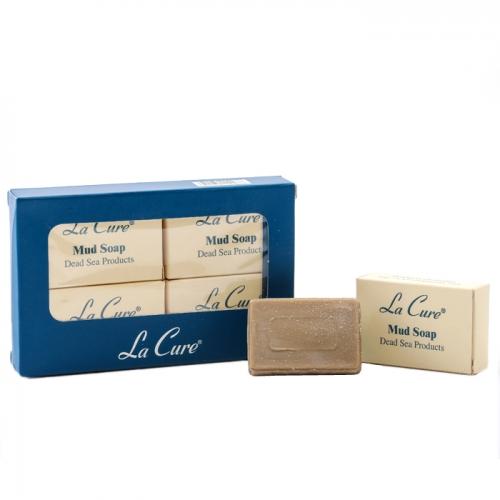 死海礦磨小泥皂22G*4個