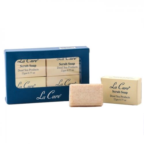 死海礦磨小砂皂22G*4個