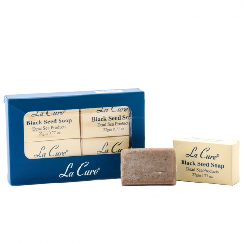 死海礦物小黑子皂22G*4個