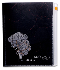 火柴人A5 Folder--加油