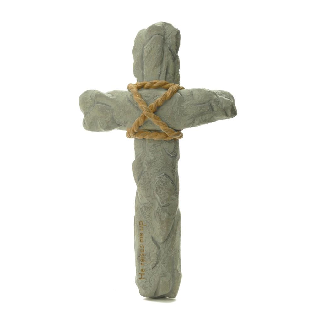 石頭-十字架掛飾
