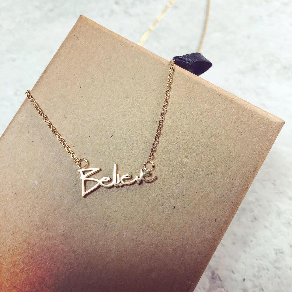 項鍊Necklace - Believe