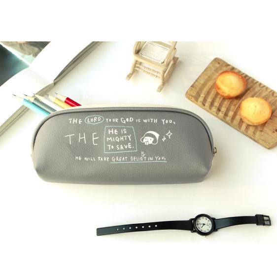 哈囉珍系列 Story筆袋 - 04.灰