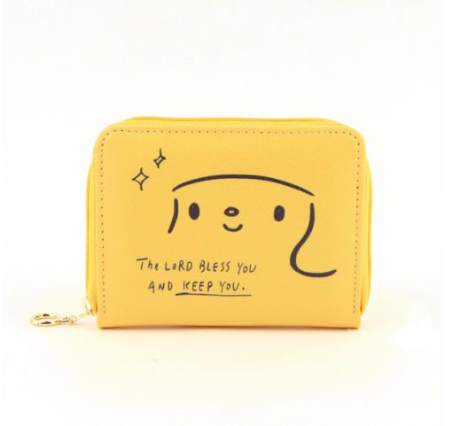 哈囉珍系列-Story卡片零錢包 - (03黃)