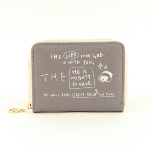 哈囉珍系列-Story卡片零錢包 - (04灰)