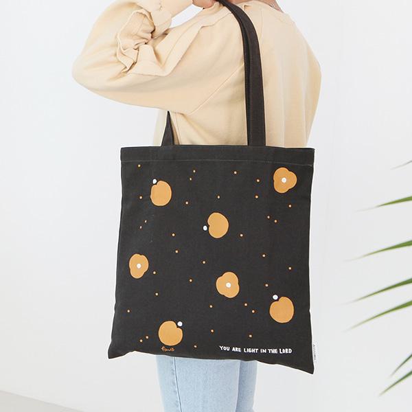 Flower 花漾系列 環保袋- 04深灰色
