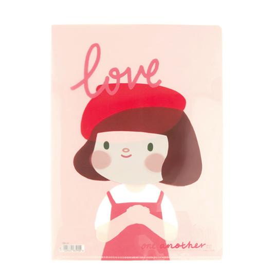 哈囉珍系列A4文件夾 - (01珍)