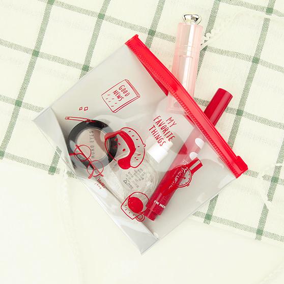 哈囉珍系列 彩色夾鏈收納袋S - 01.珍