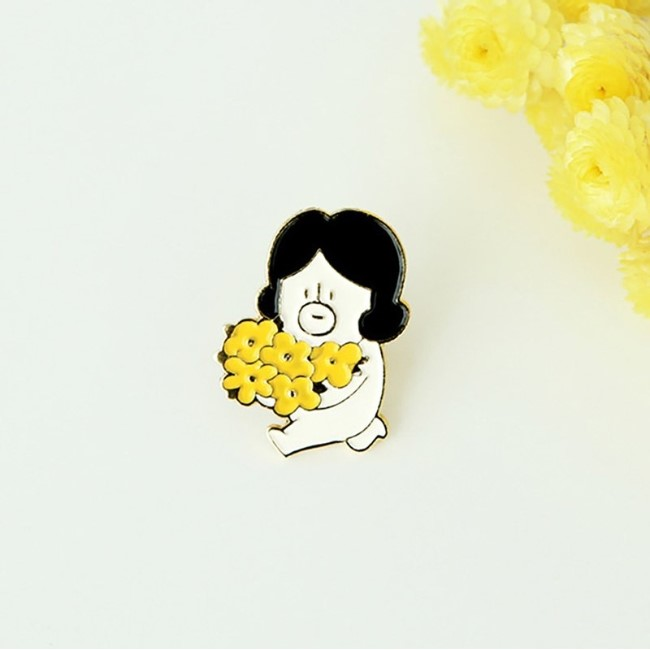 哈囉登登系列 造型別章 01.flower登登