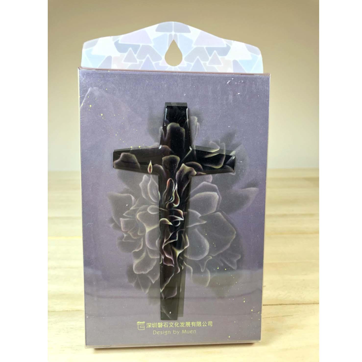 真光照耀-水滴十字架裝飾貼