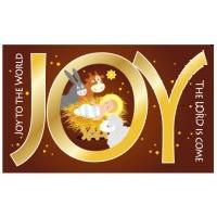 JOY/聖誕節卡片