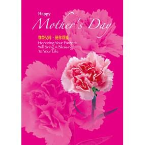 母親節程序單:尊榮父母.使你得福(40張)-A4