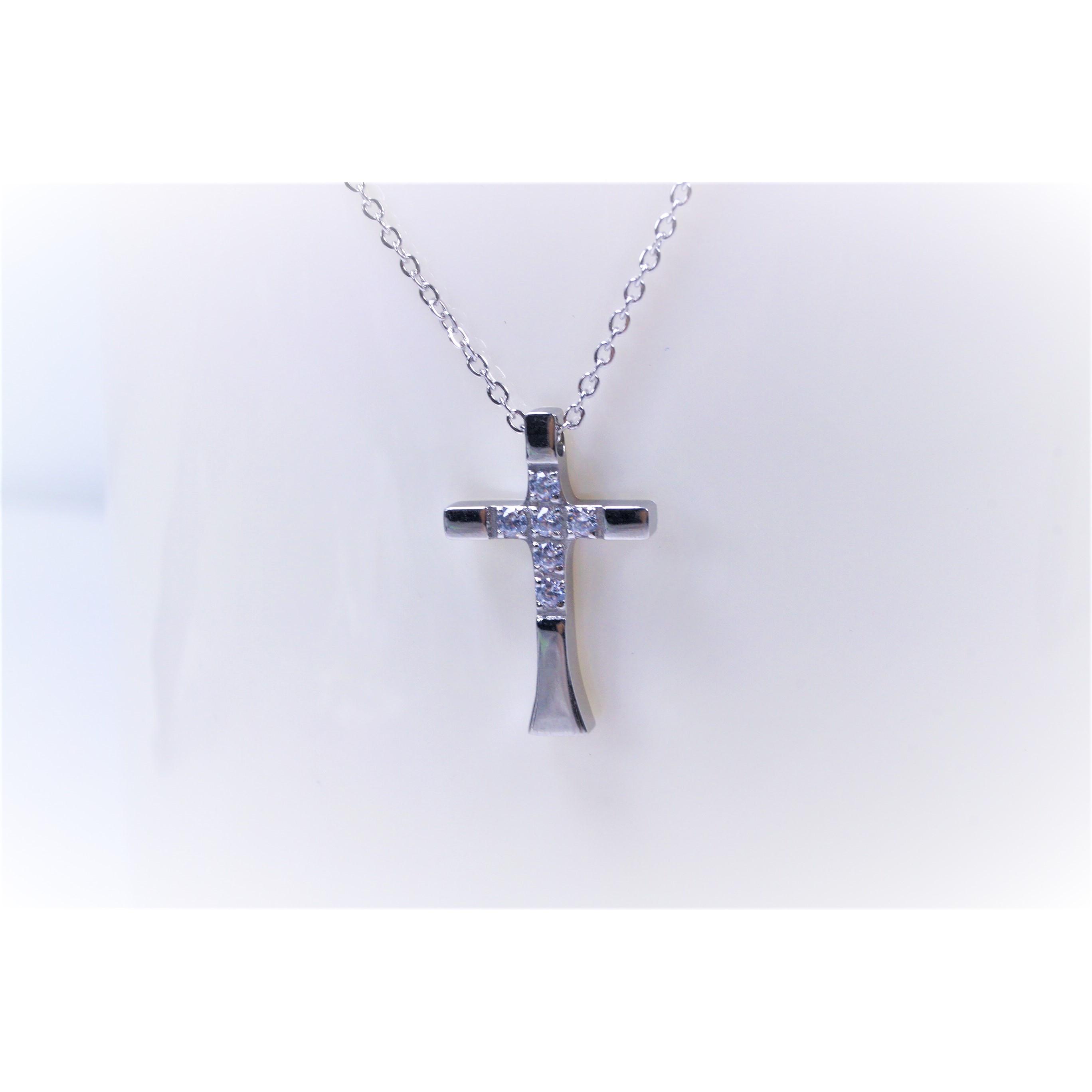 項鍊-十字架(小)