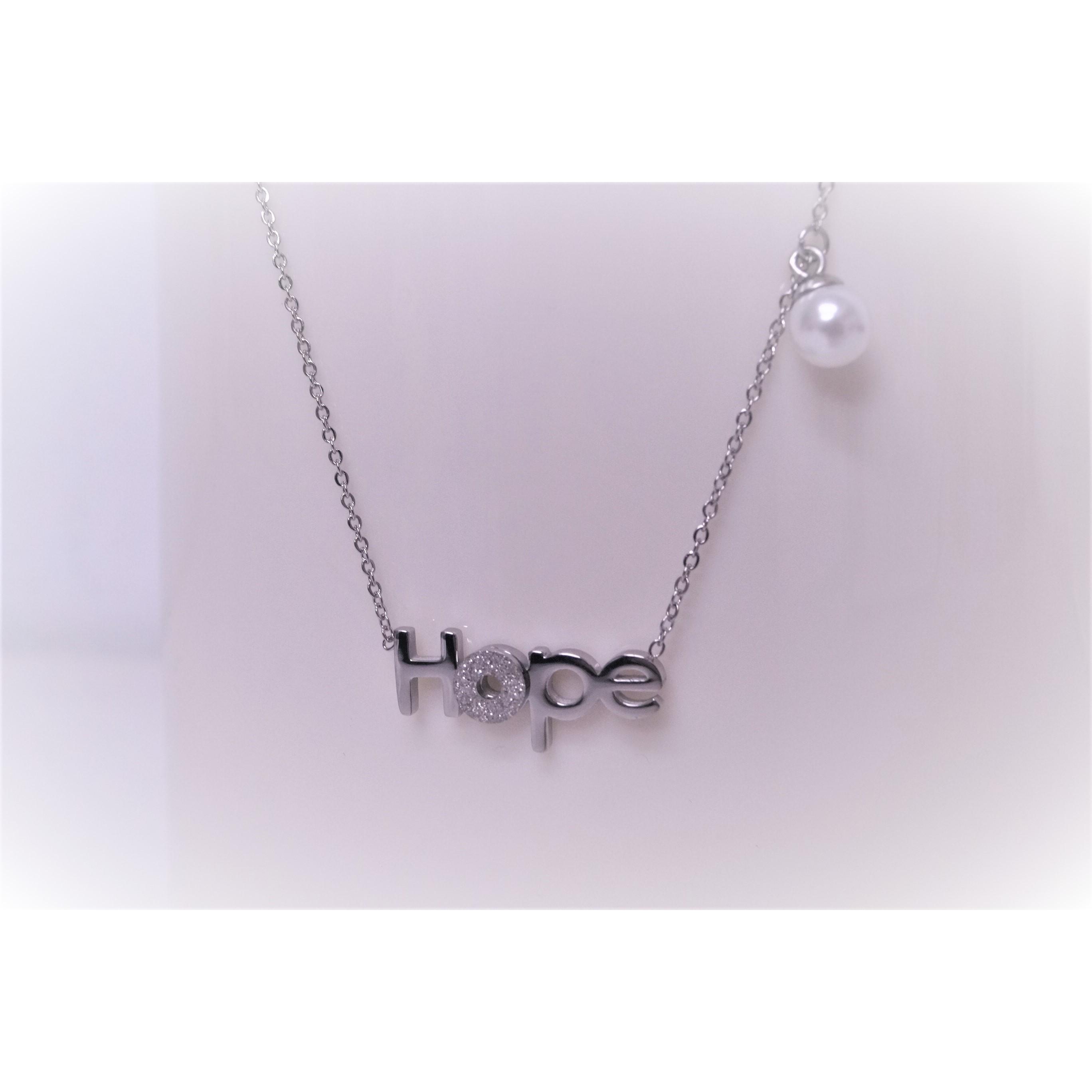 項鍊-HOPE - 不銹鋼