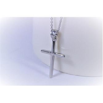 項鍊-十字架 - 精鋼(小)