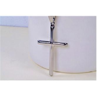 項鍊-十字架 - 精鋼(大)