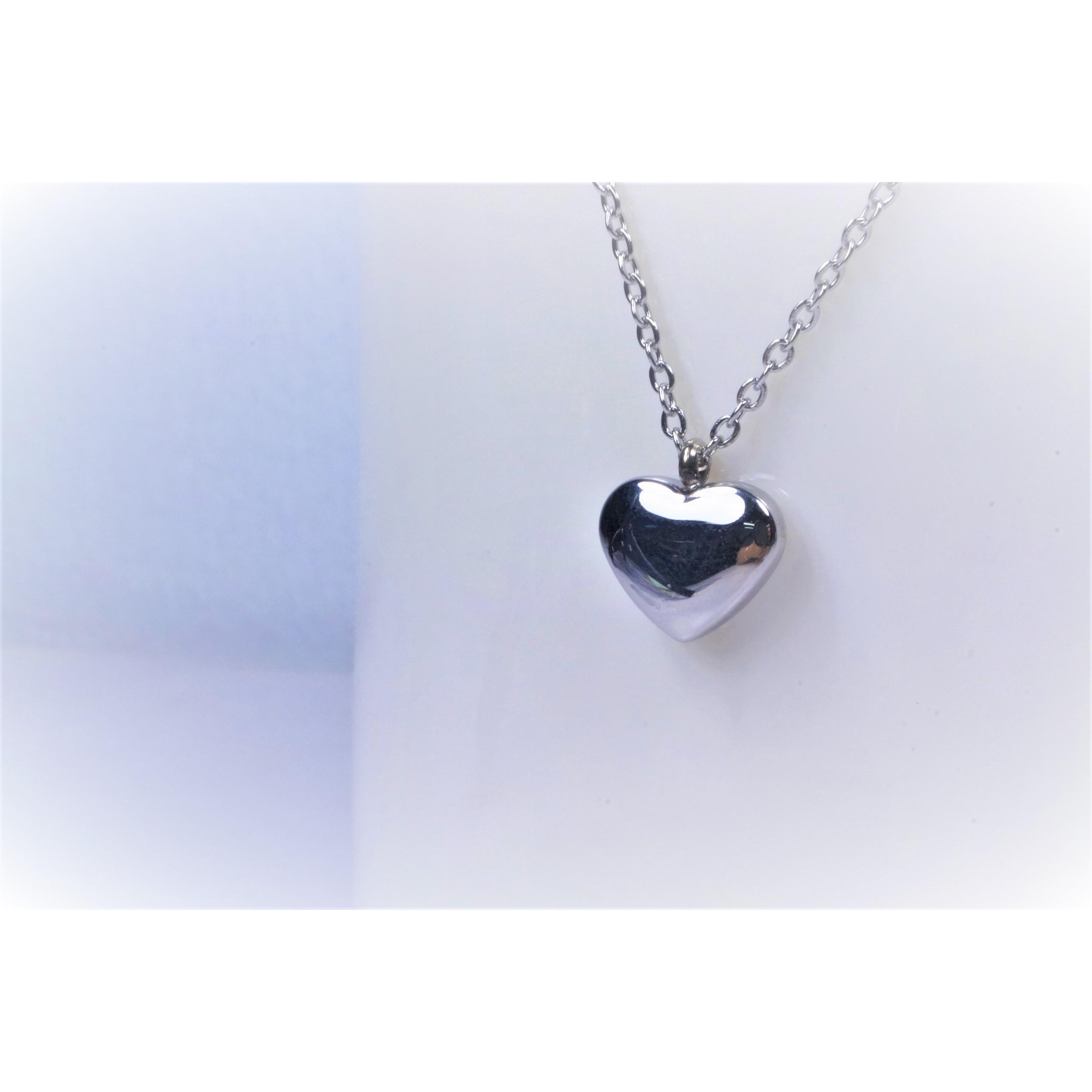 項鍊-愛心 - 不鏽鋼