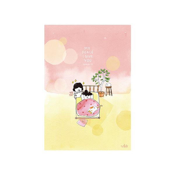 插畫明信片(30美夢)哈囉登登系列