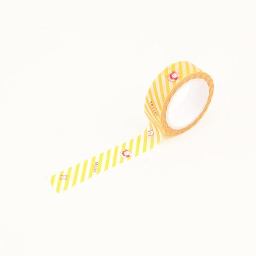 插畫紙膠帶(05條紋)哈囉珍系列