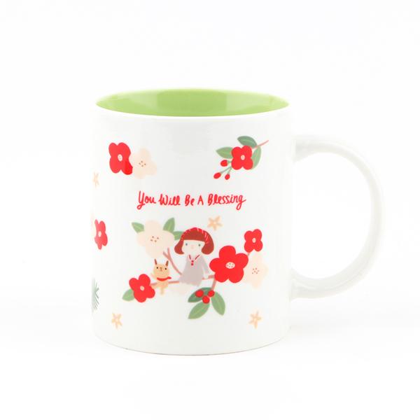 哈囉珍系列 color馬克杯(02.blessing)