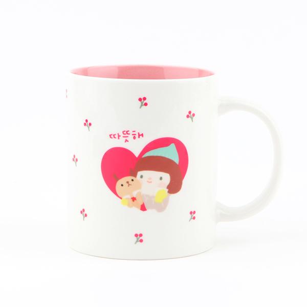 哈囉珍系列 color馬克杯(04.Warm Heart)
