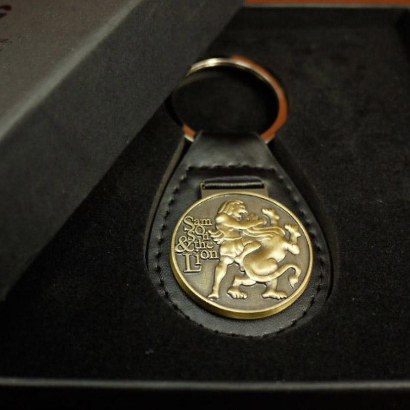 參孫和獅子鑰匙扣