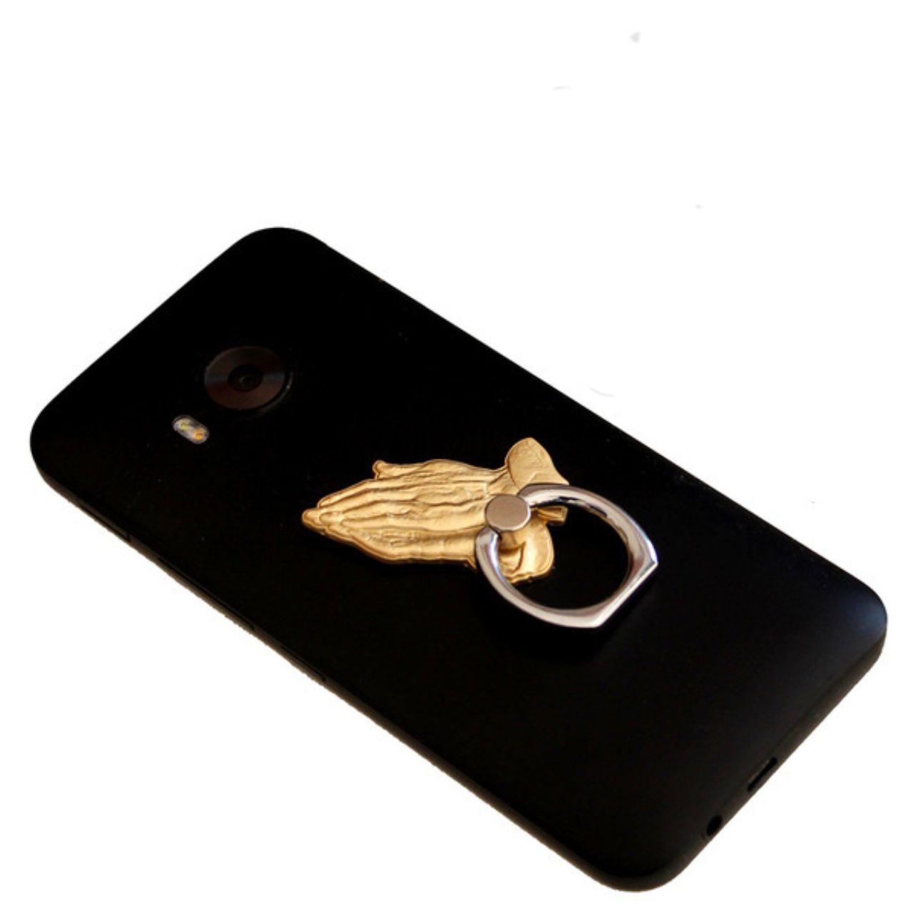 禱告手手機指環