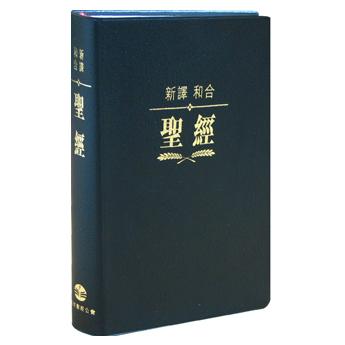 新譯/和合聖經繁體神字版標準本-硬面