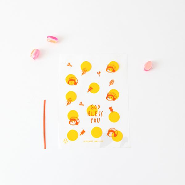 01.Dot jane-彩繪包裝袋(平口)10入