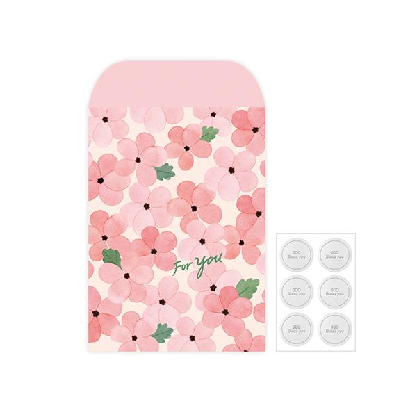 Gracebell包裝系列 信封包裝袋(L) (05.Light pink)-6入