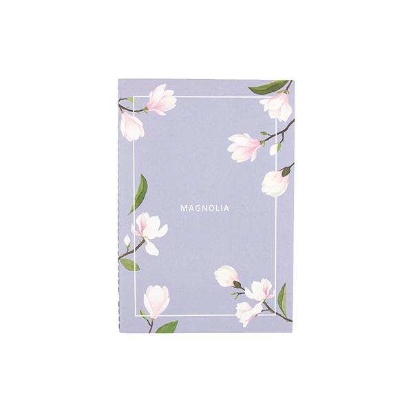 Flower 花漾系列 祕密花園筆記本(M01.木蘭)