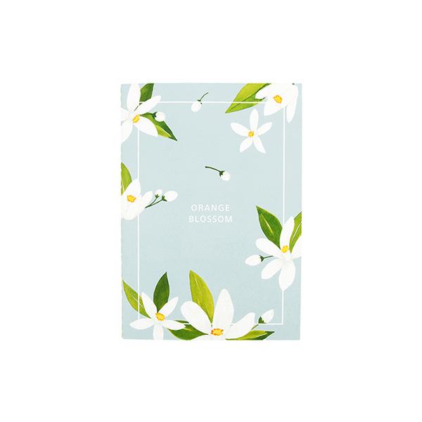 Flower 花漾系列 祕密花園筆記本(M03.橙花)