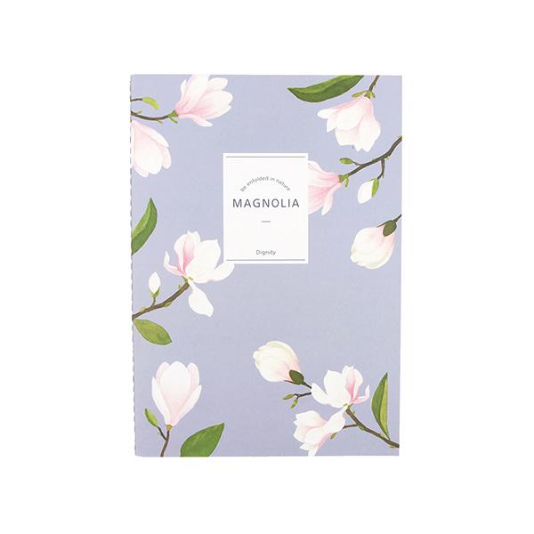 Flower 花漾系列 祕密花園筆記本(L01.木蘭)