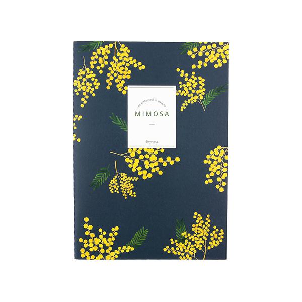 Flower 花漾系列 祕密花園筆記本(L05.含羞草)