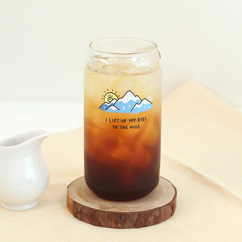 Gracebell系列 Can造型玻璃杯(550ml) 03.Dun Dun