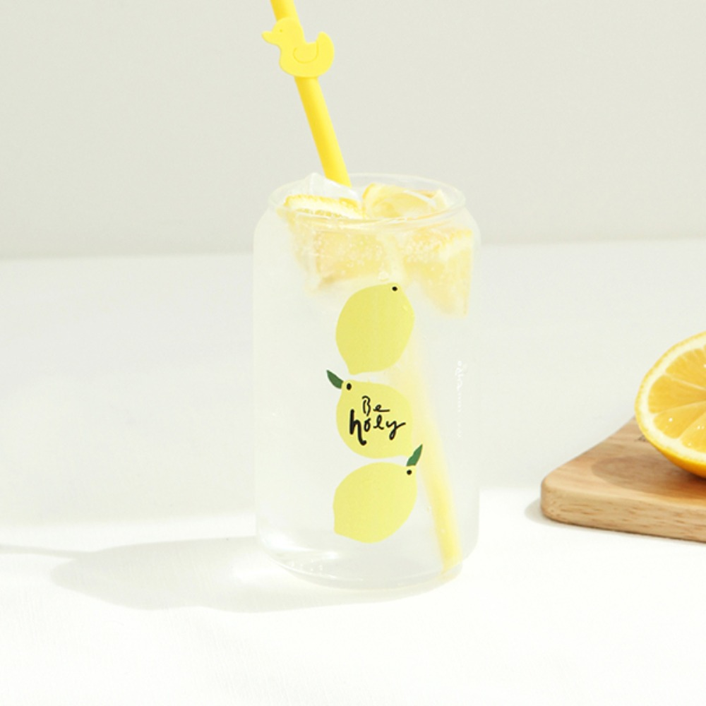 Gracebell系列 Can造型玻璃杯(400ml) 02.Holly
