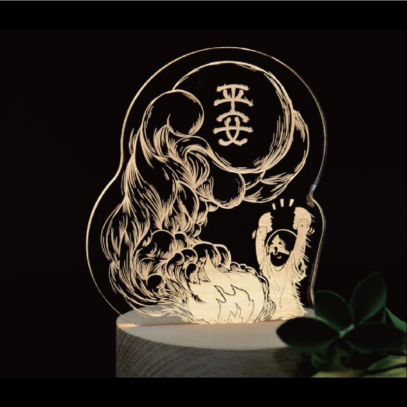 平安祭小夜燈