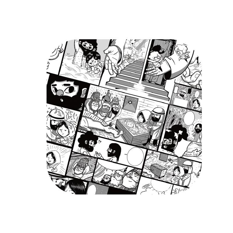 杯墊-漫畫款