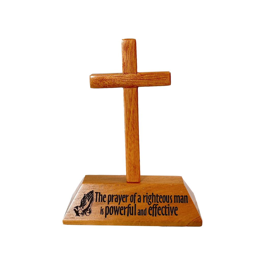 十架+經句座The Prayer of a righteous man is powerf
