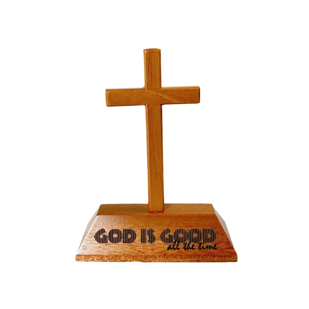 十架+經句座GOD IS GOOD all the time