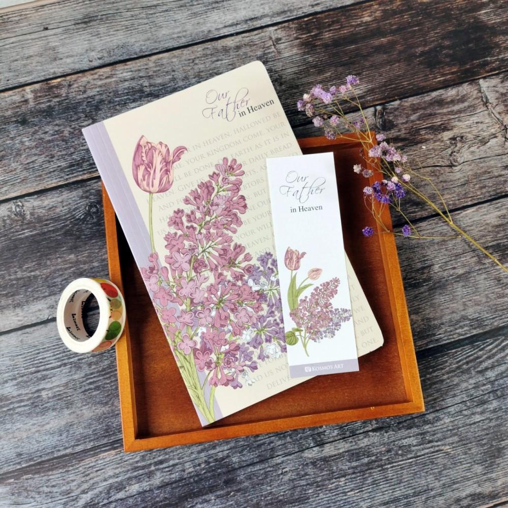 高貴紫/古典花卉筆記本
