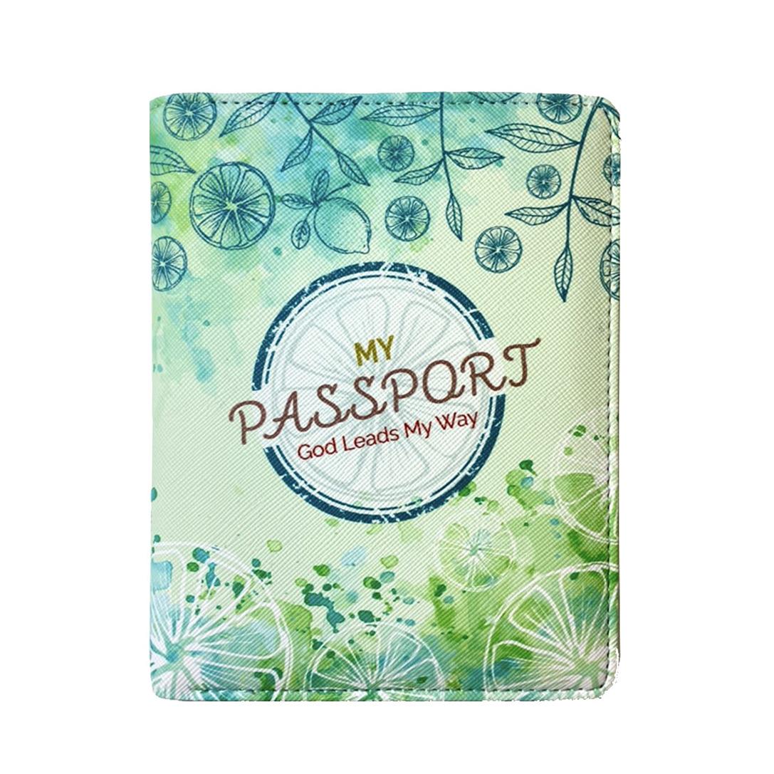 檸檬綠/護照錢包夾