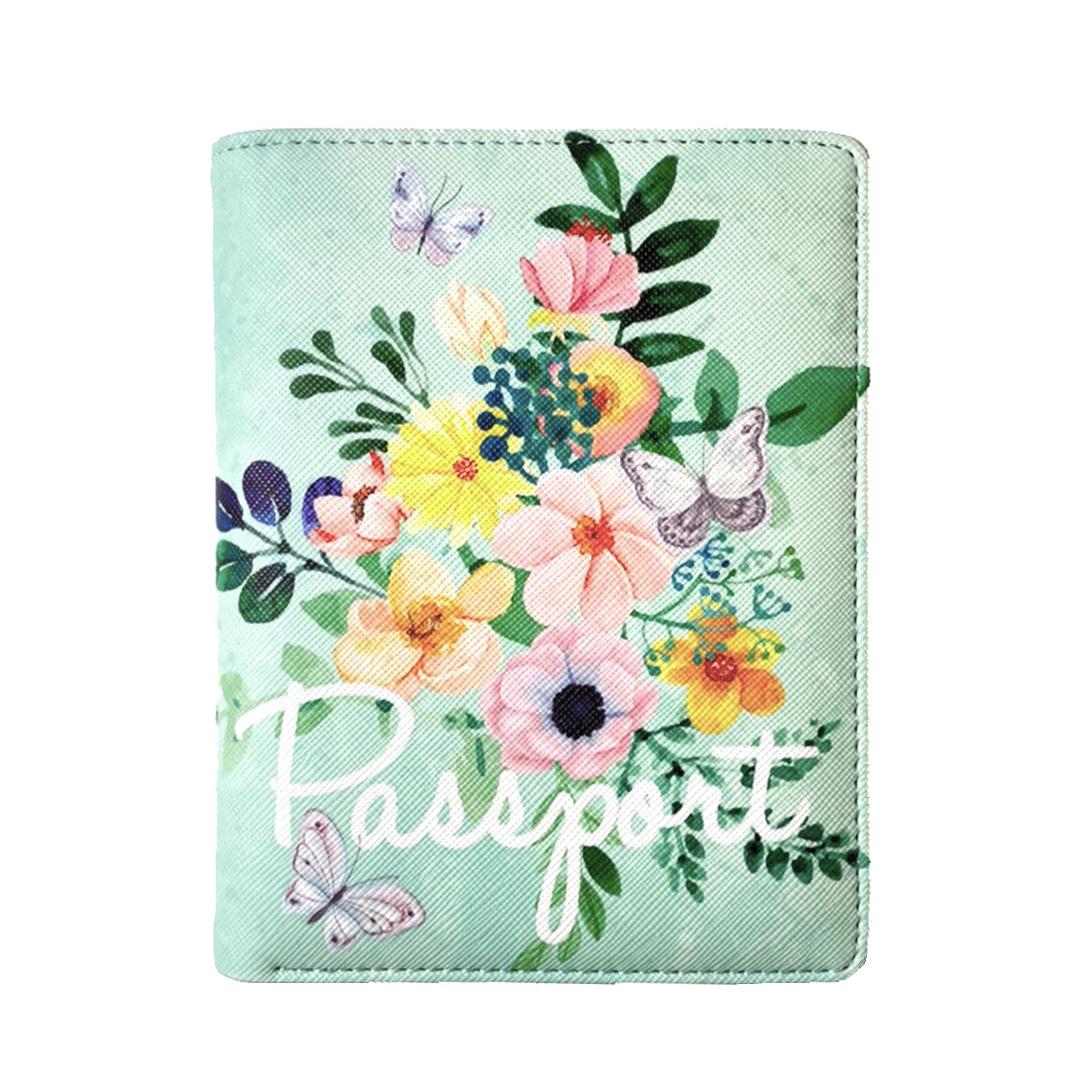 花漾青/護照錢包夾