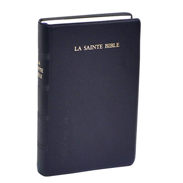 法文聖經/膠面/白邊