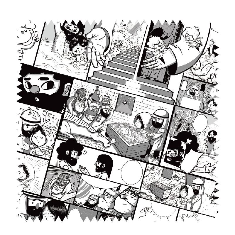 福音拭鏡布-漫畫款