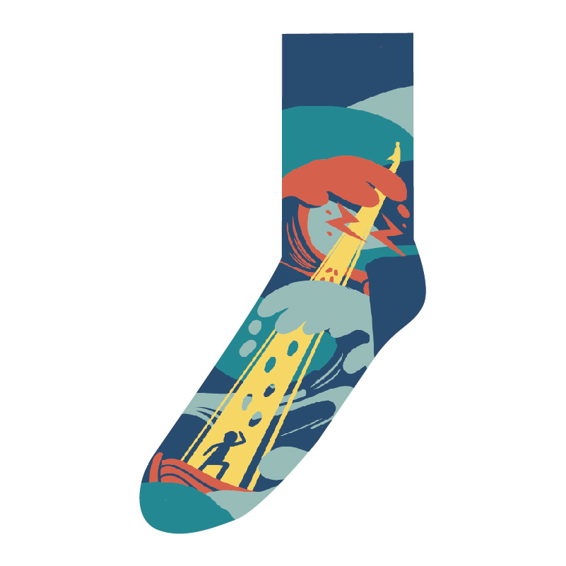 襪子-信心行走